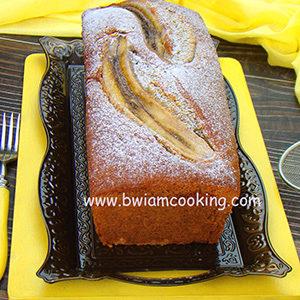 Простой пирог банановый в духовке
