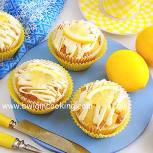 Кексы «Маффины» с лимоном и белым шоколадом