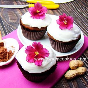 Кексы «Маффины» шоколадные с орехами