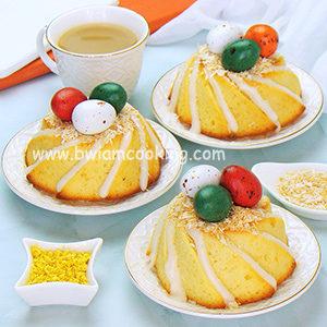 Кексы лимонные на Пасху