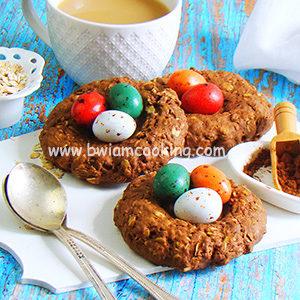 Печенье овсяное шоколадное