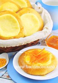 Ватрушки с творогом и апельсинами