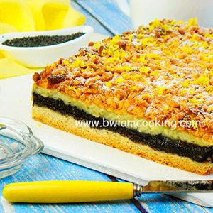 Пирог «Крошка» с творогом и маком