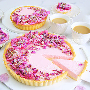 Пирог песочный «Тарт» с малиновой начинкой
