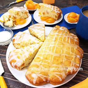 Пирог с абрикосами на молоке в духовке